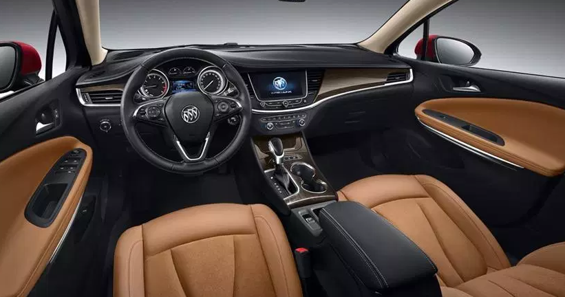 2021 Buick Encore Interior