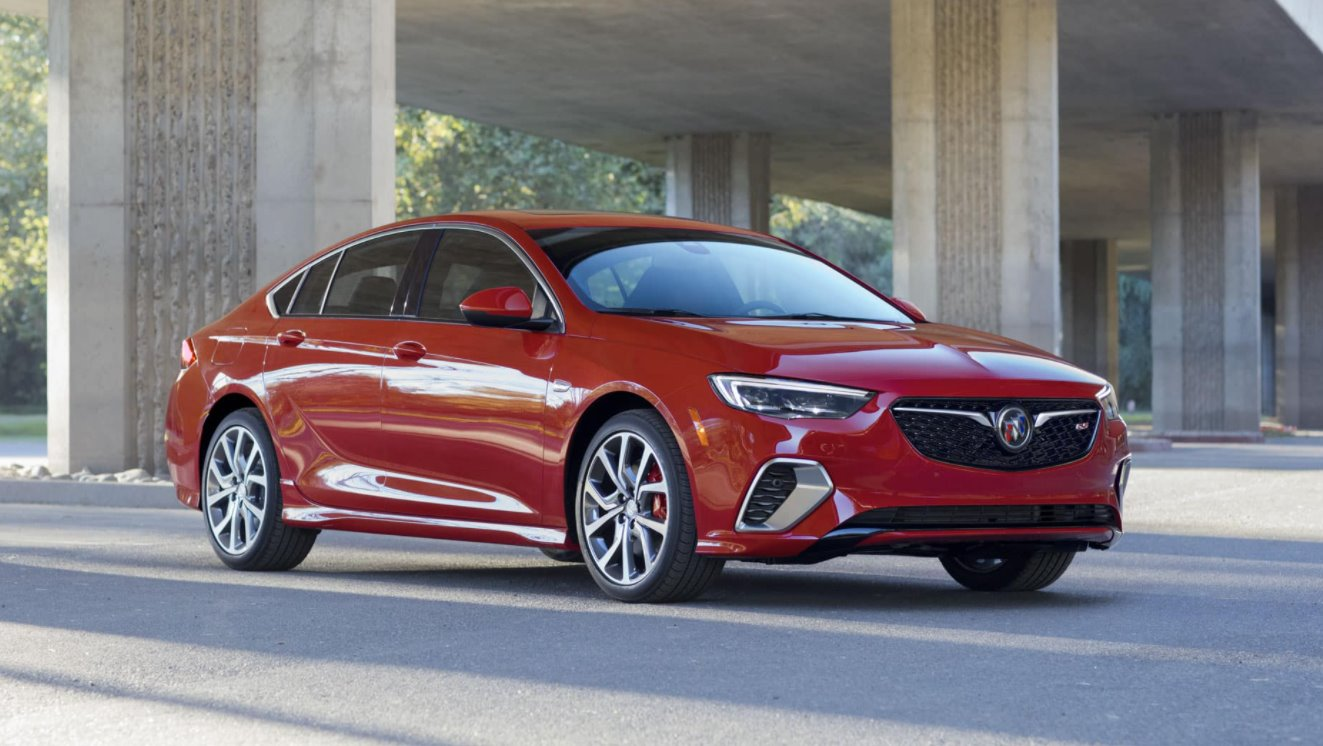 2022 Buick Regal GS Exterior