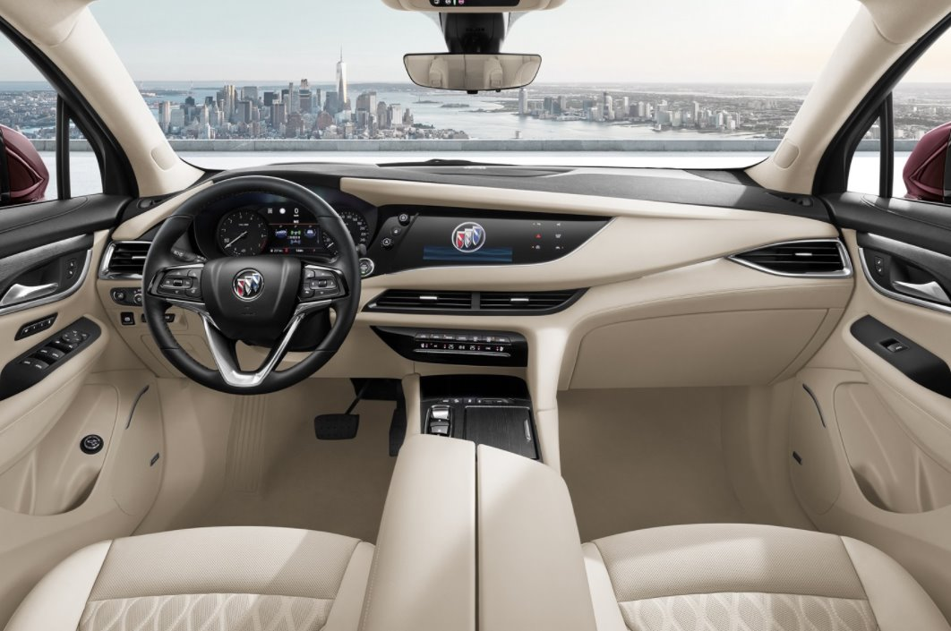 All New 2022 Buick Envision Interior