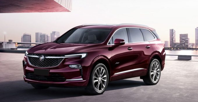 New 2022 Buick Enclave Exterior