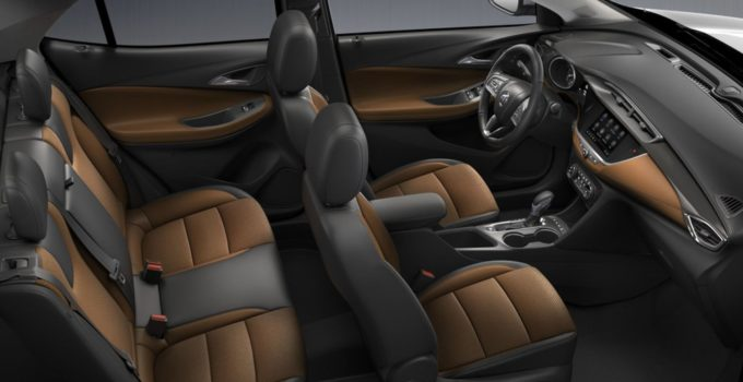 New 2022 Buick Encore GX Interior