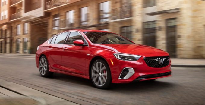 New 2022 Buick Regal Exterior