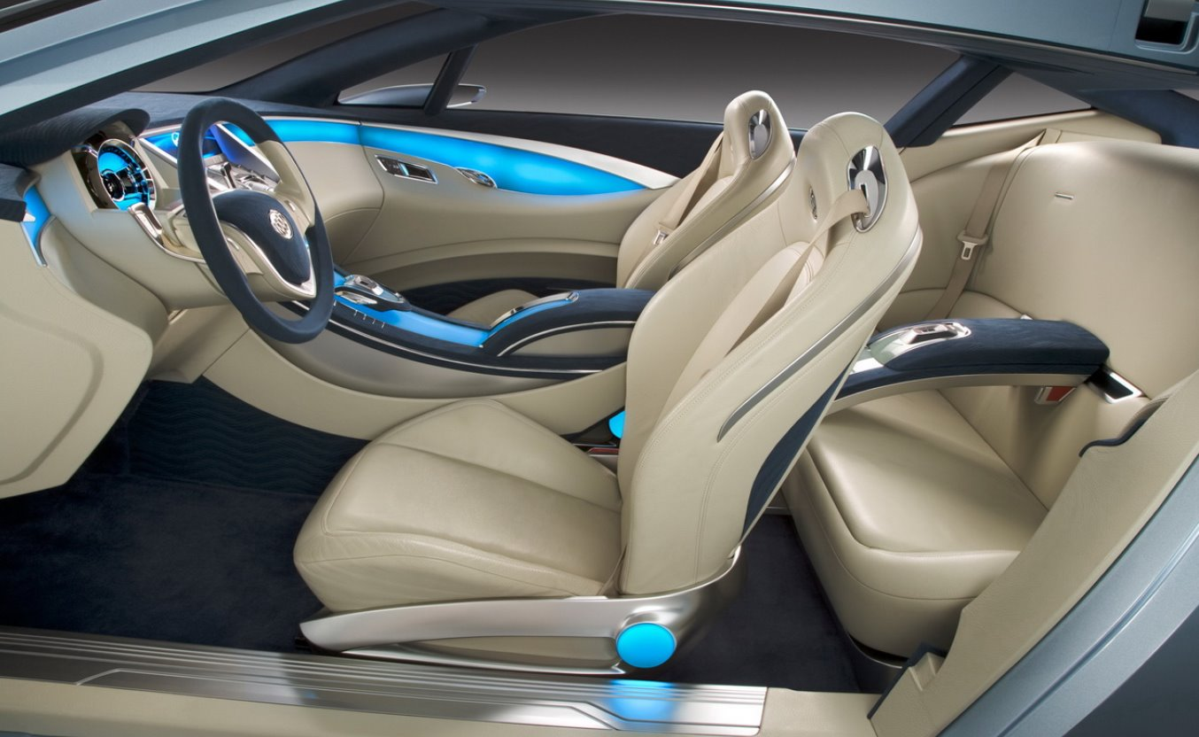New 2022 Buick Riviera Interior
